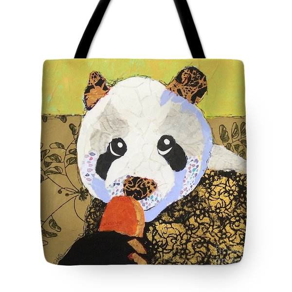 Panda Pop Tote Bag