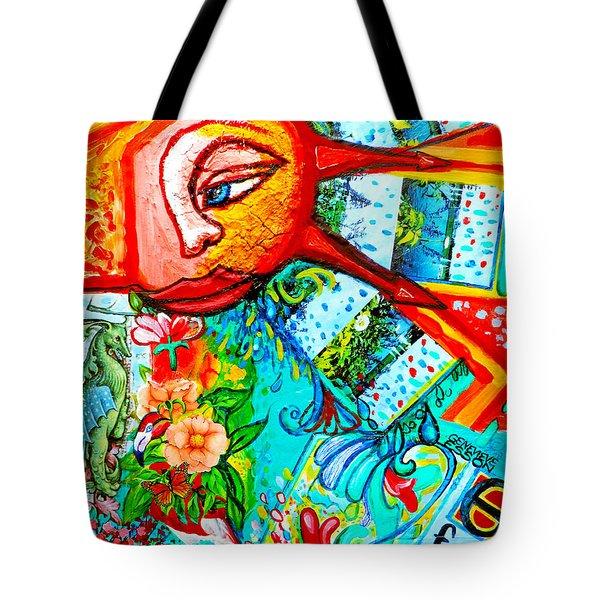 Pandoras Box Spiraling Clockwise Tote Bag