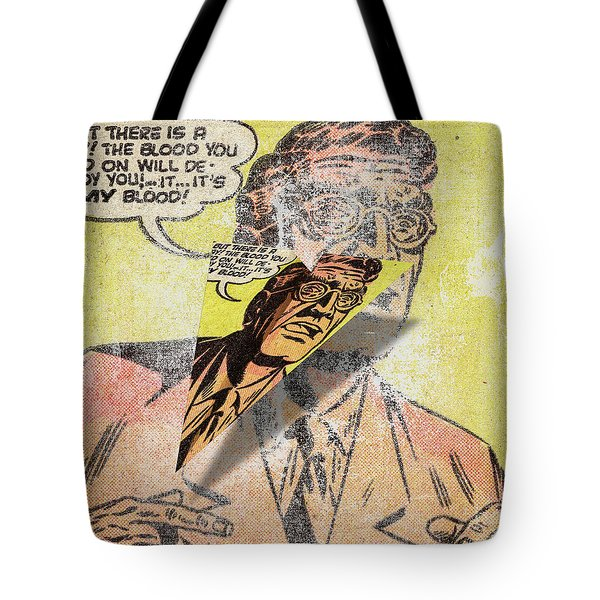 1f8dd61daca1 Panel Art 1 Voe Mad Paper Airplane Tote Bag