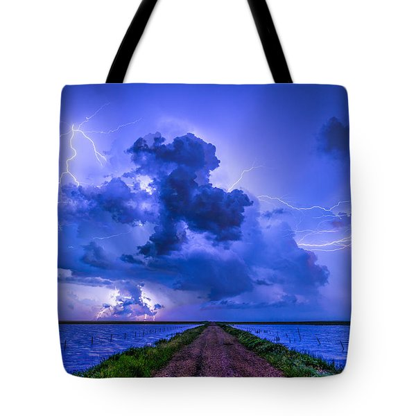 Panhandle Flood Tote Bag