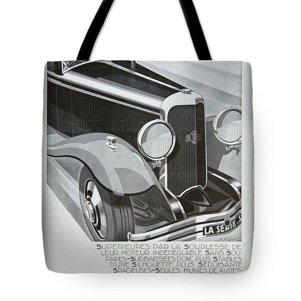 Panhard #8701 Tote Bag