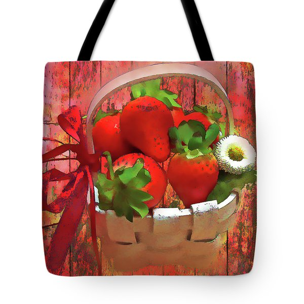 Panier De Baies 2017 Tote Bag