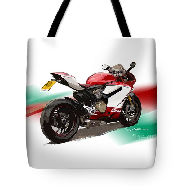 Panigale S Tote Bag by Roger Lighterness