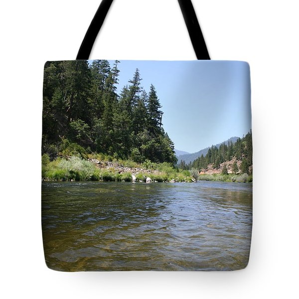 Tote Bag featuring the photograph Panner's River by Dylan Punke