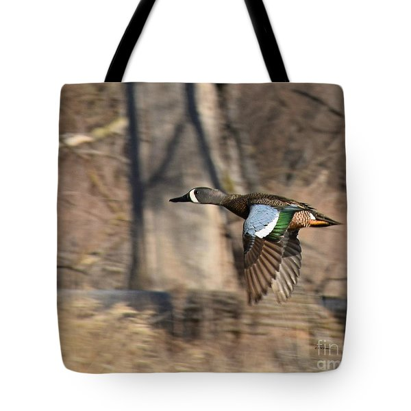 Panning For Teal Tote Bag