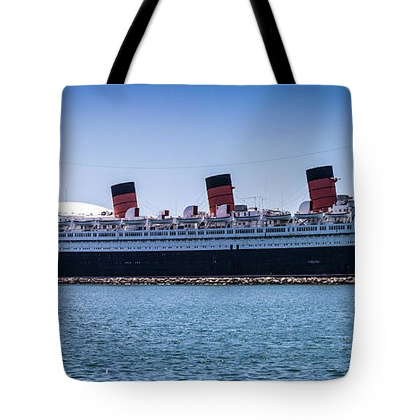 Panorama Of The Queen Mary Tote Bag