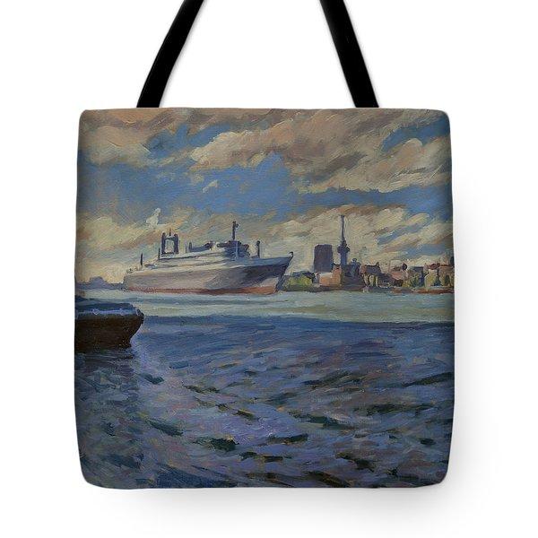 Panorama Rotterdam Tote Bag by Nop Briex
