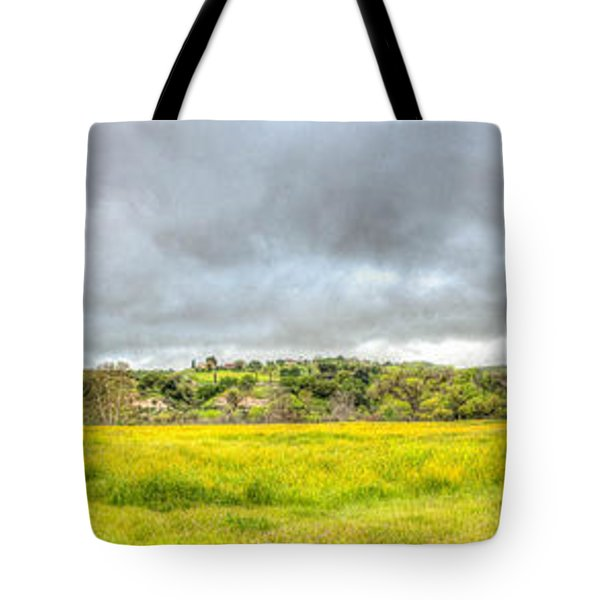 Panorama View Spring Time Tote Bag
