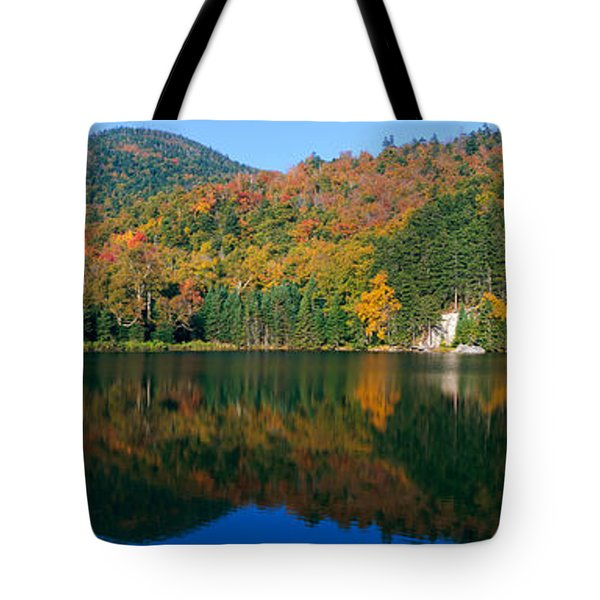 Panoramic View Of Crawford Notch State Tote Bag