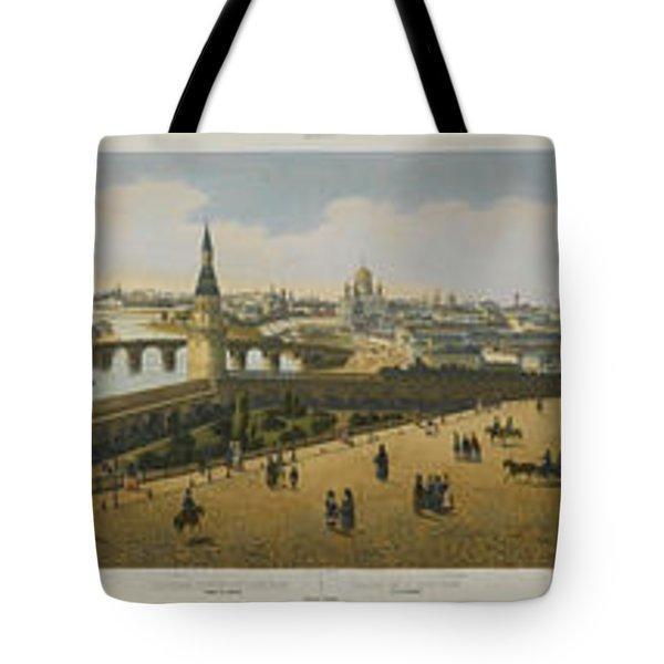 Panoramic View Of St. Petersburg Tote Bag
