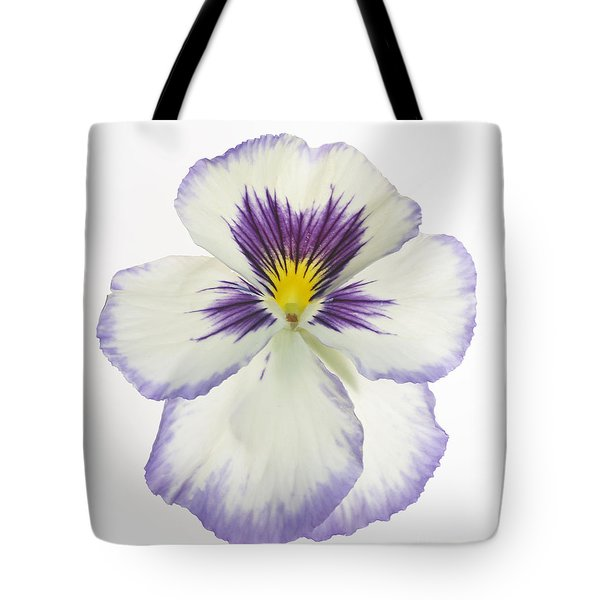 Pansy 2 Tote Bag by Tony Cordoza