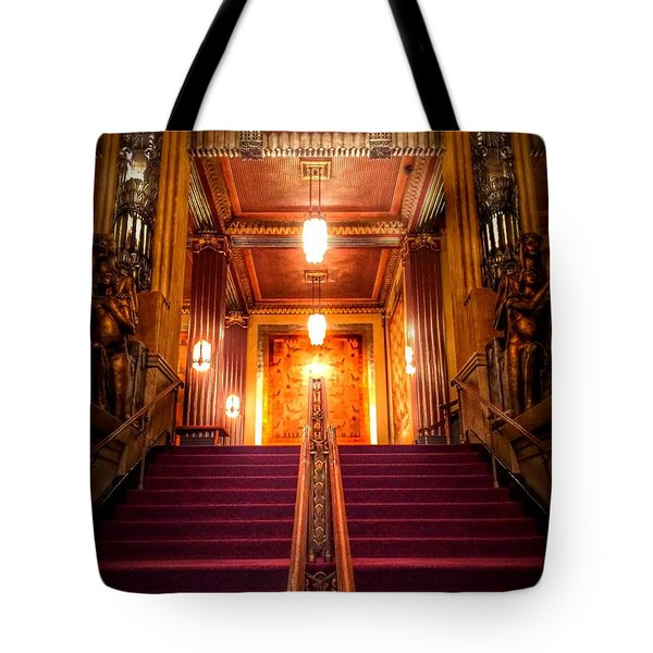 Pantages Theater's Grand Staircase Tote Bag