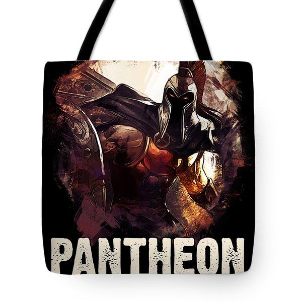 Pantheon - League Of Legends Tote Bag