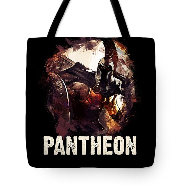 Pantheon - League Of Legends Tote Bag