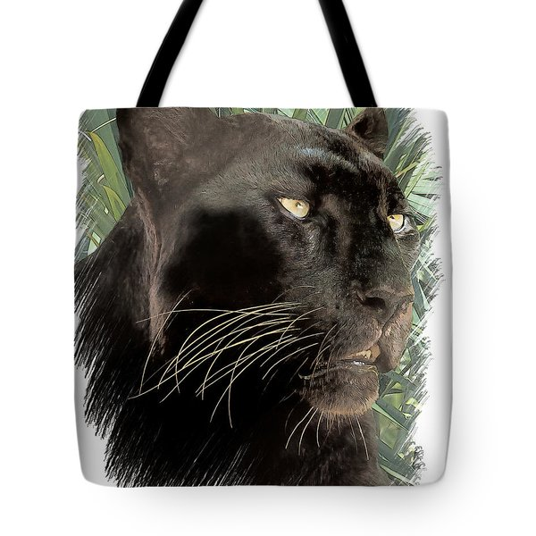 Panther 8 Tote Bag