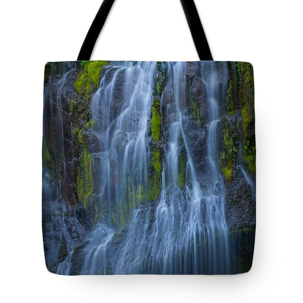 Panther Creek Falls Summer Waterfall -close 2 Tote Bag