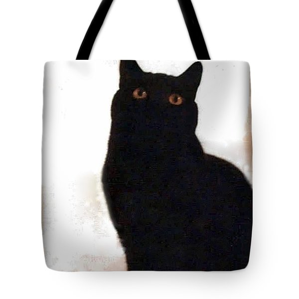 Panther The British Shorthair Cat Tote Bag