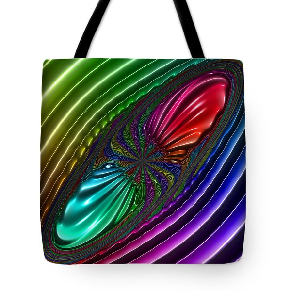Tote Bag featuring the digital art Panthrough by Andrew Kotlinski