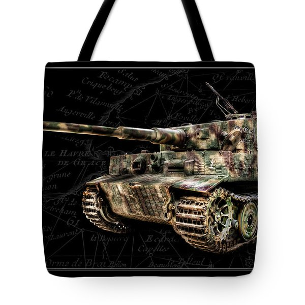 Panzer Tiger I Side Bk Bg Tote Bag