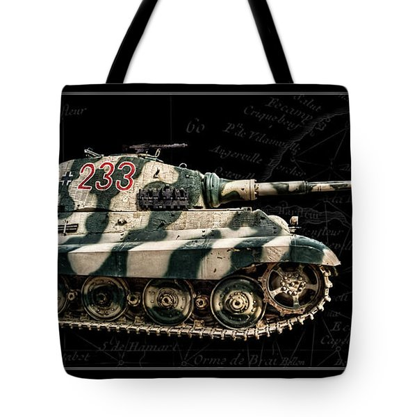Panzer Tiger II Side Bk Bg Tote Bag