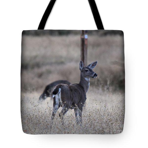 Papa Deer Tote Bag