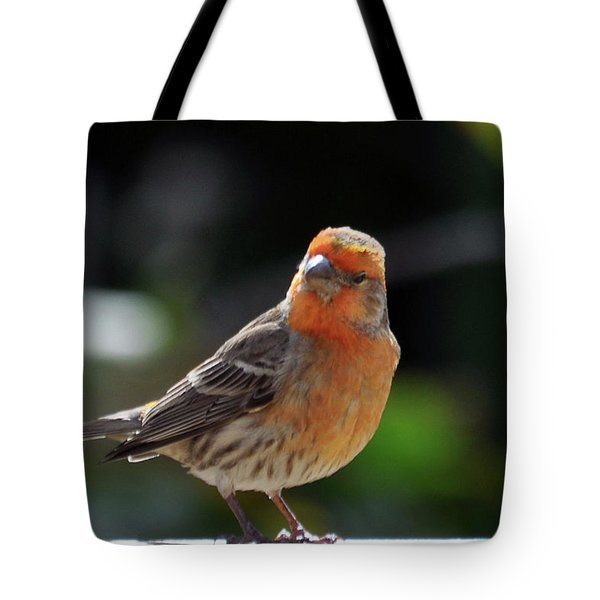 Papaya Bird Tote Bag