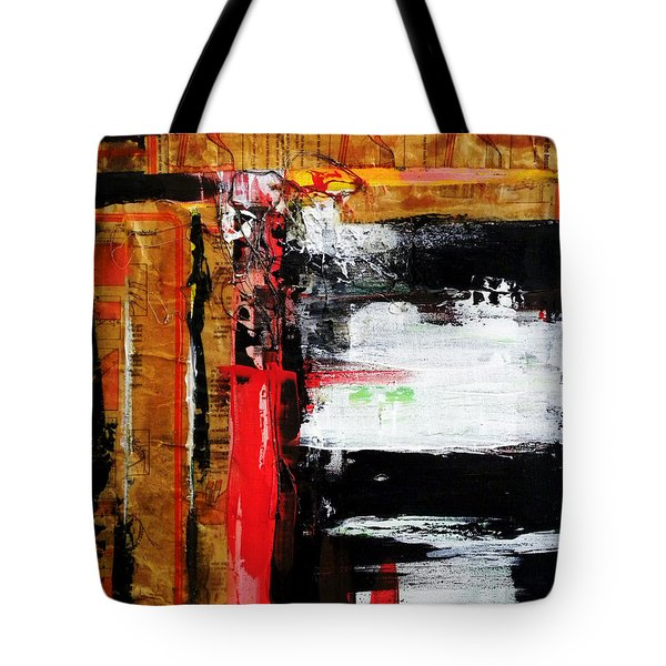 Paper And Thread Tote Bag