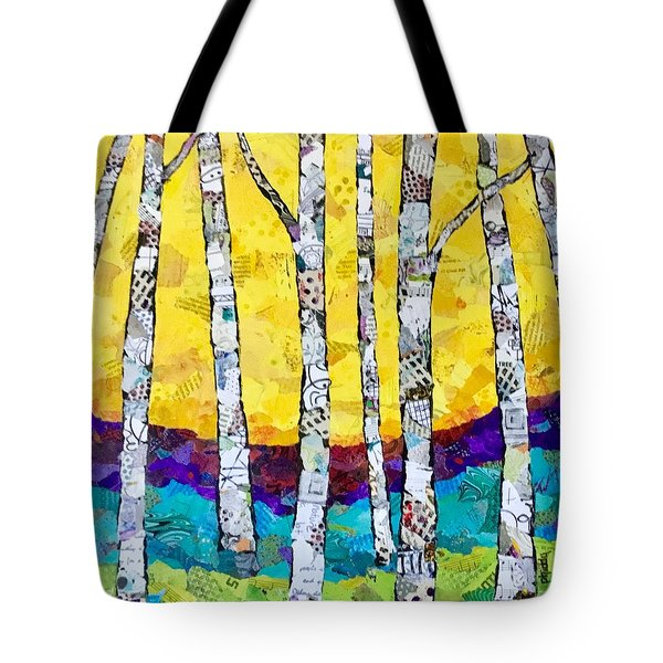 Paper Birch 2 Tote Bag