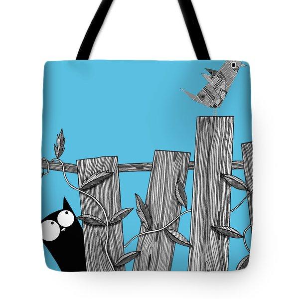 Paper Bird Tote Bag