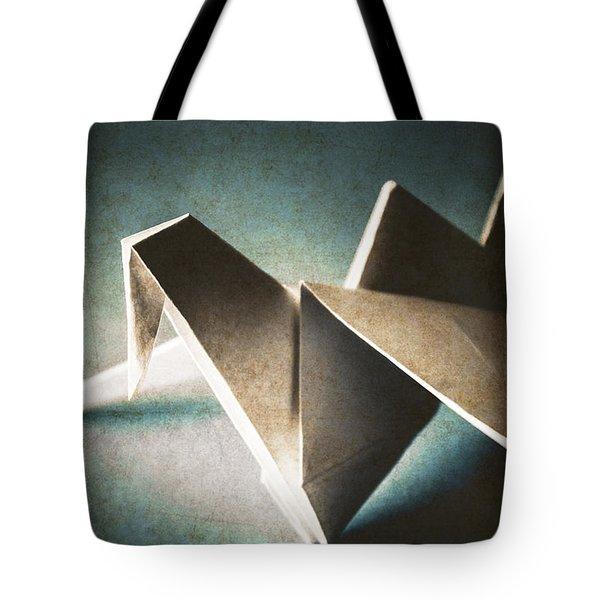 Paper Crane In Daylight Tote Bag