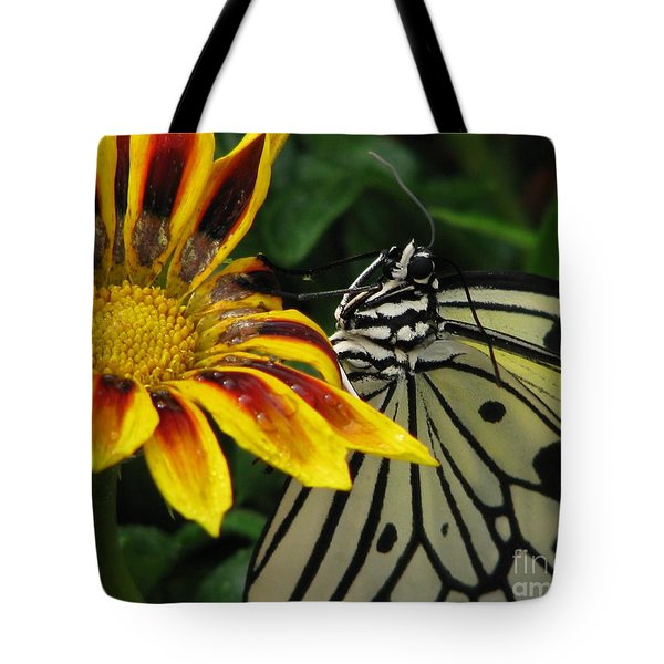 Paper Kite Smiles Tote Bag by Misha Bean