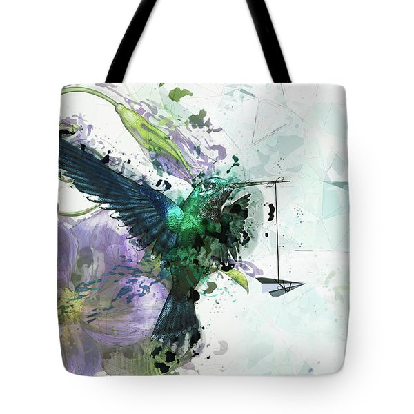 Paper Planes And Promises Tote Bag by Cameron Gray