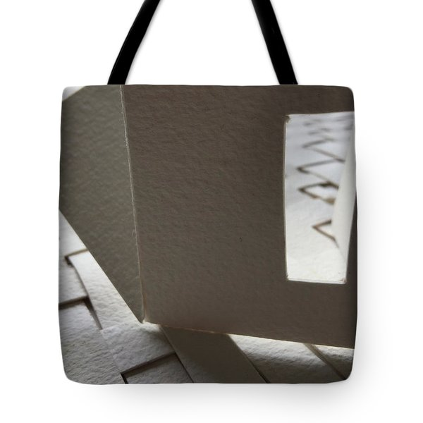 Paper Structure-3 Tote Bag