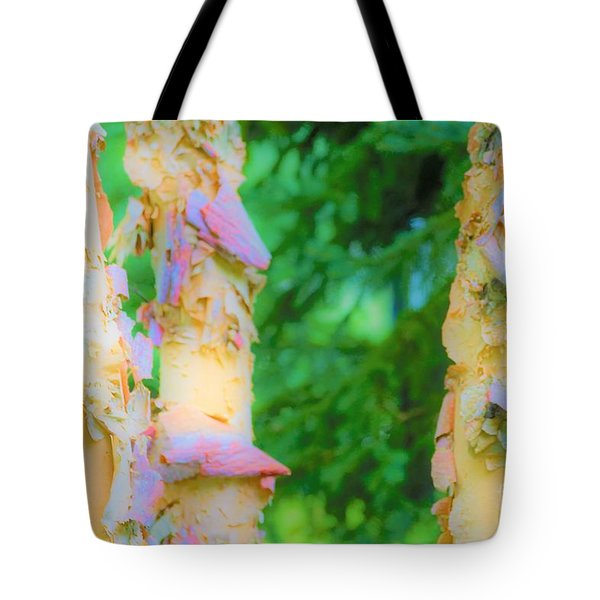 Paper Thin Bark Tote Bag