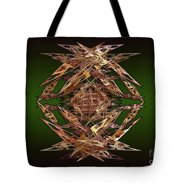 Tote Bag featuring the digital art Paper Wings by Melissa Messick