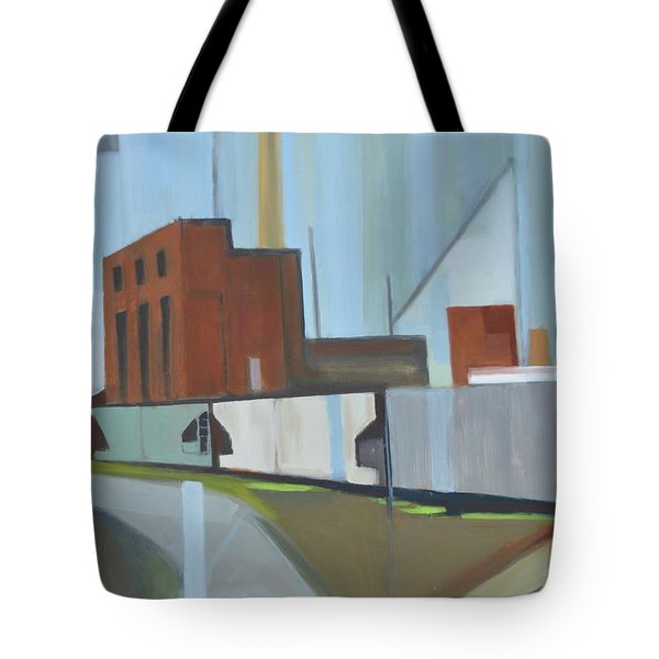 Paperboard Factory Bogota Nj Tote Bag by Ron Erickson