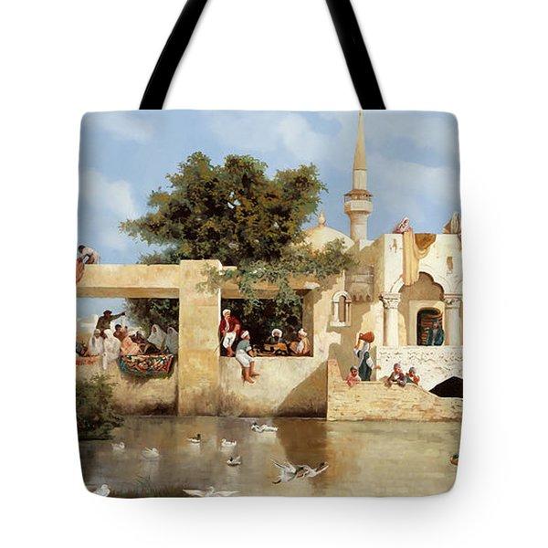 Papere E Cane Tote Bag