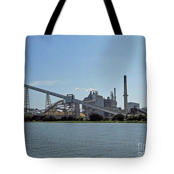 Papermill On Fernandina Tote Bag