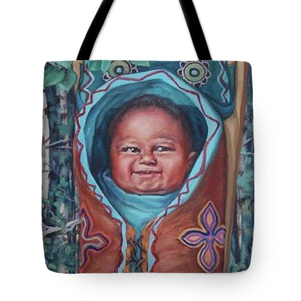 Papoose Tote Bag