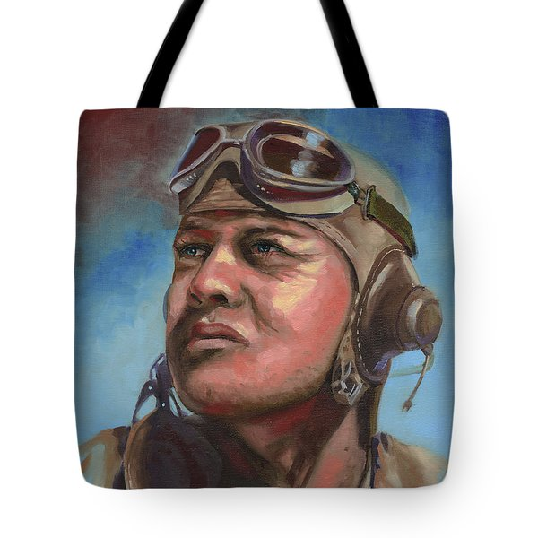 Pappy Boyington Tote Bag