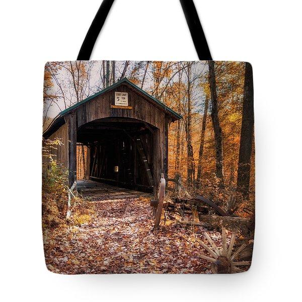 Pappy Hayes Covered Bridge Tote Bag