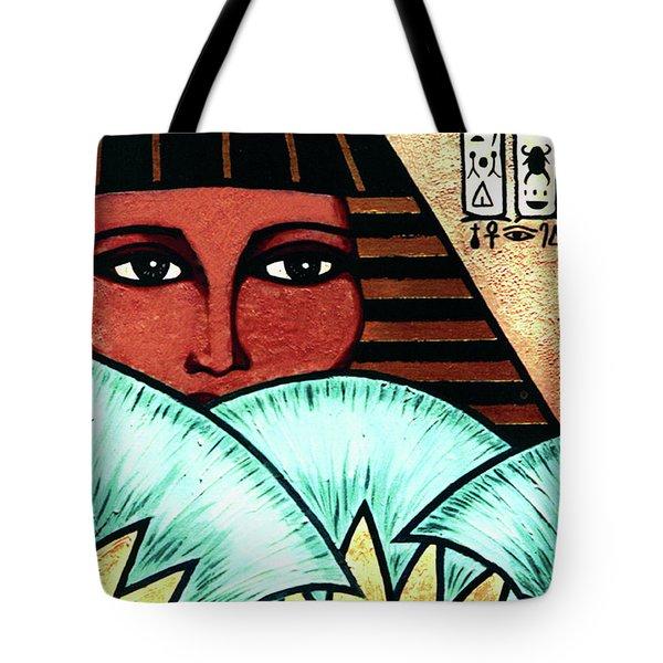 Papyrus Girl Tote Bag