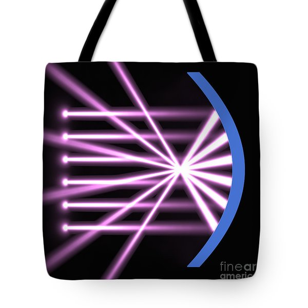 Tote Bag featuring the digital art Parabolic Reflector 2 by Russell Kightley