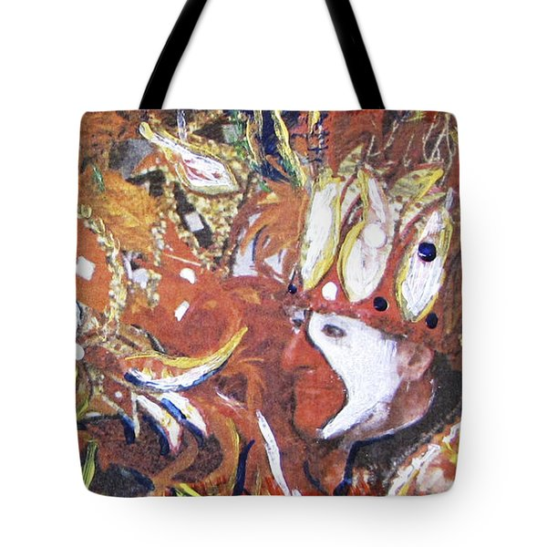 Leader Of The Mardi-gras Tote Bag by Gary Smith