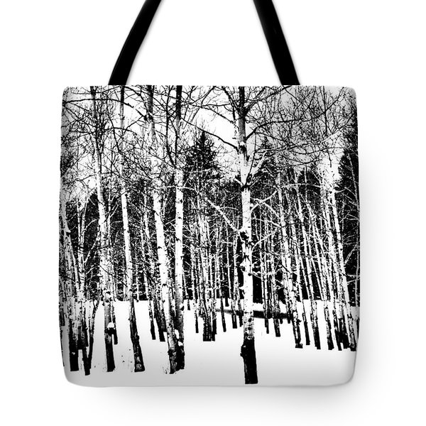 Parade Of Aspens Tote Bag