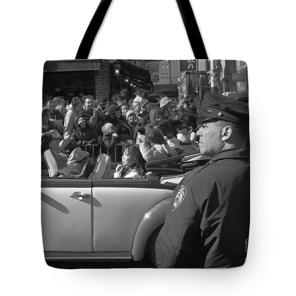 Parade Security Tote Bag by Clarence Holmes