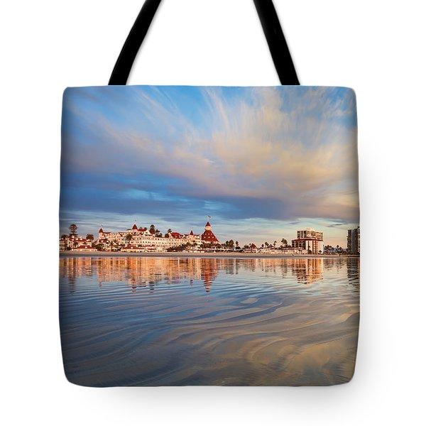 Paradise Afloat Tote Bag