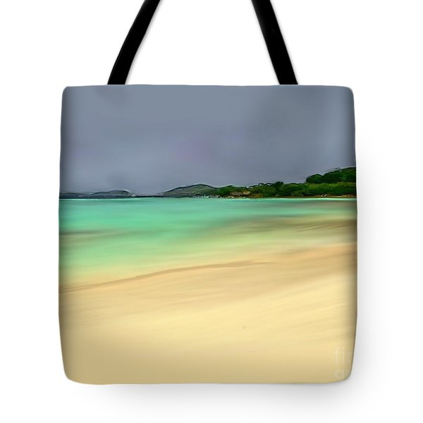 Paradise Tote Bag by Anthony Fishburne