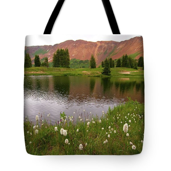 Tote Bag featuring the photograph Paradise Basin by Steve Stuller