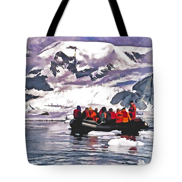 Paradise Bay  Tote Bag by Dennis Cox